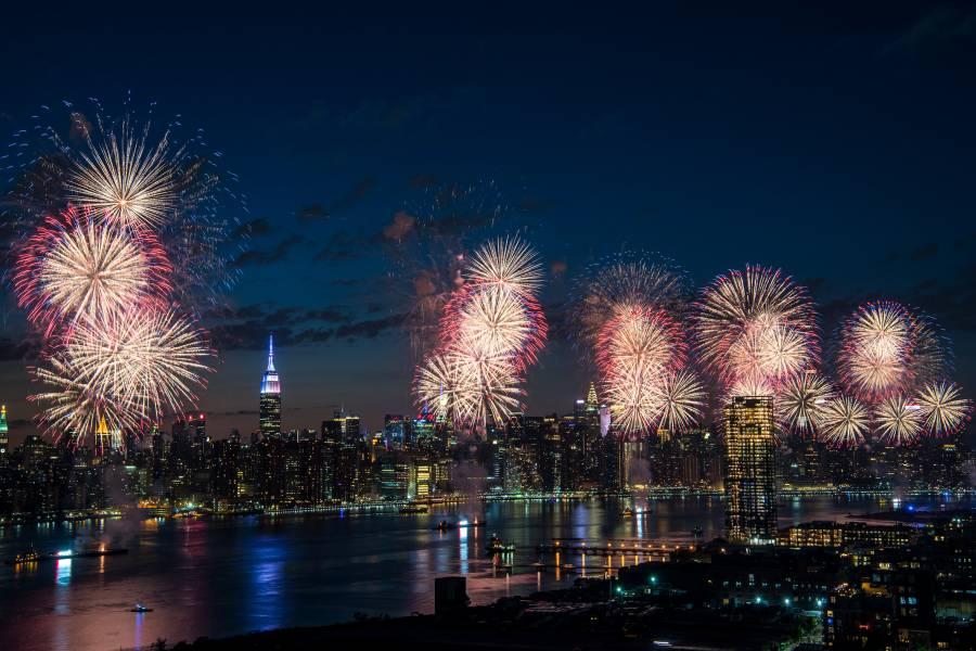 Fogos de artifício da Macy's, Nova York