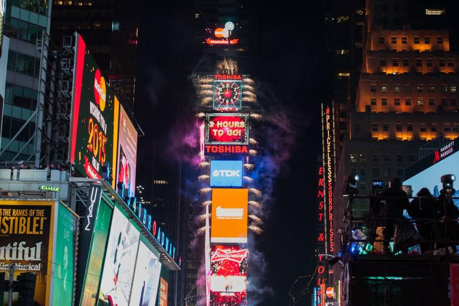 Celebração de Ano Novo da Times Square, Nova York