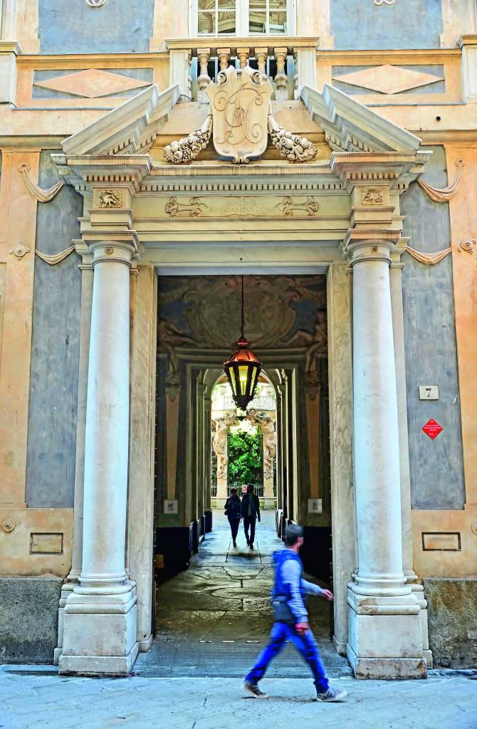 Palazzo Nicolosio Lomellino, Italia,
