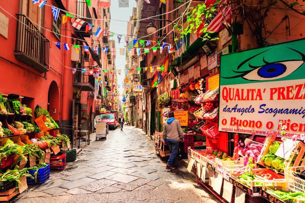 Quartieri Spagnoli, Nápoles, Itália