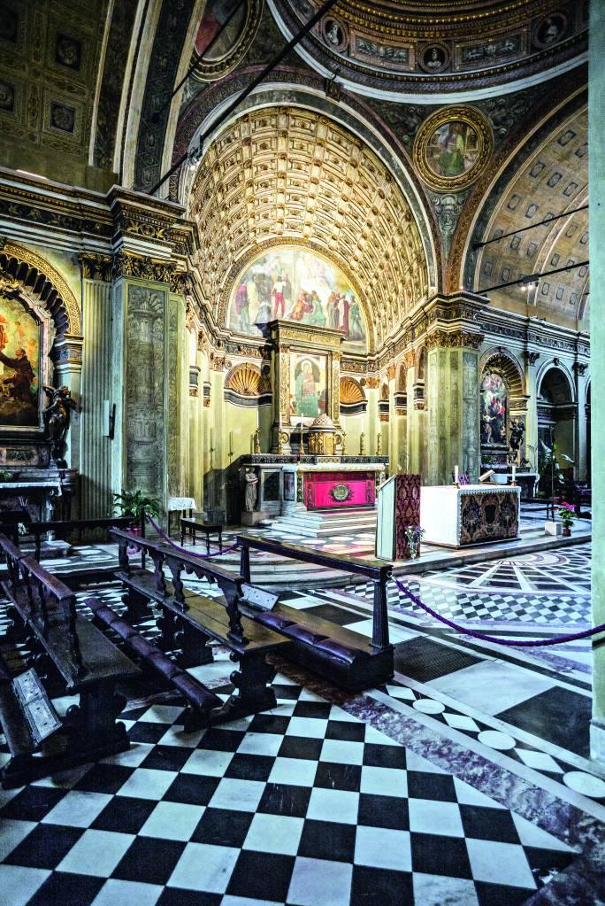 Santa Maria Presso di San Satiro, Milão, Itália