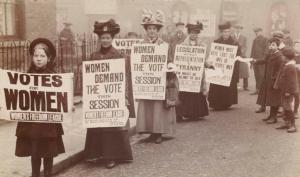 Movimento britânico do sufragismo feminino