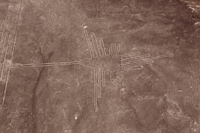 Linha de Nazca, deserto de Nazca, Peru