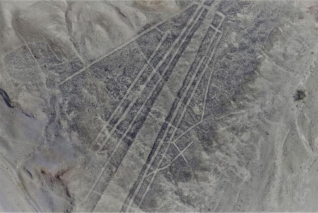 Linha de Nazca, em Palpa, Peru
