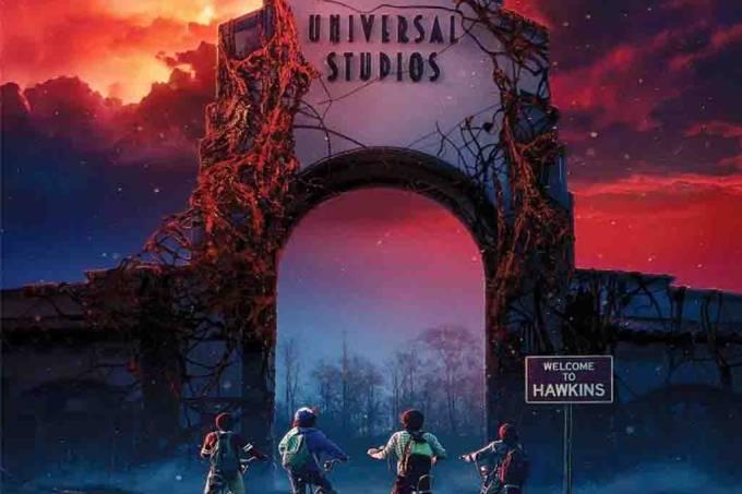 Stranger Things na Universal Studios