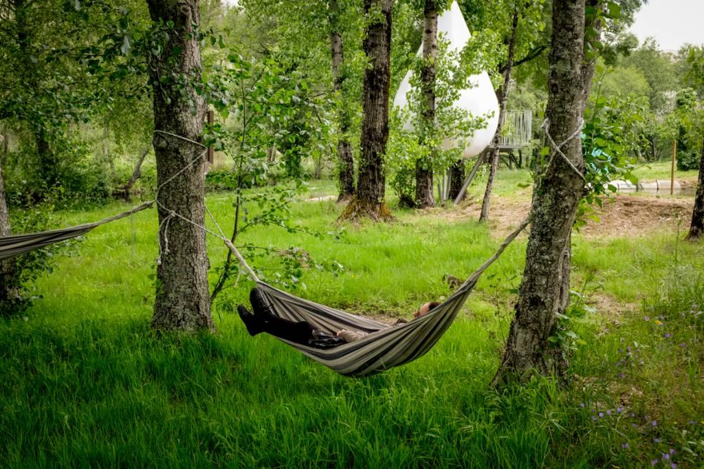 Relax no jardim: para desconectar