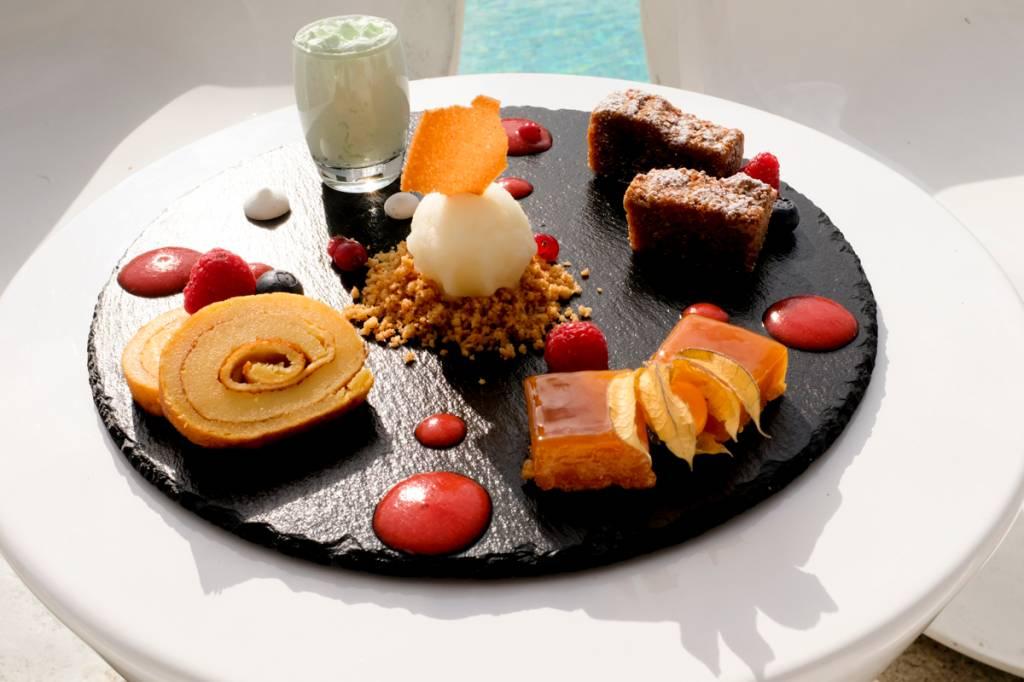 A degustação de doces conventuais do restaurante: pode voltar agora?