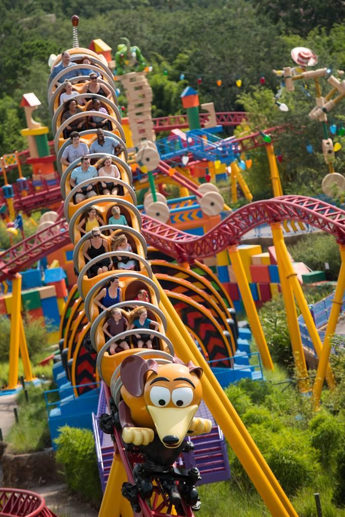 Slinky Dog Dash, Toy Story Land, Orlando