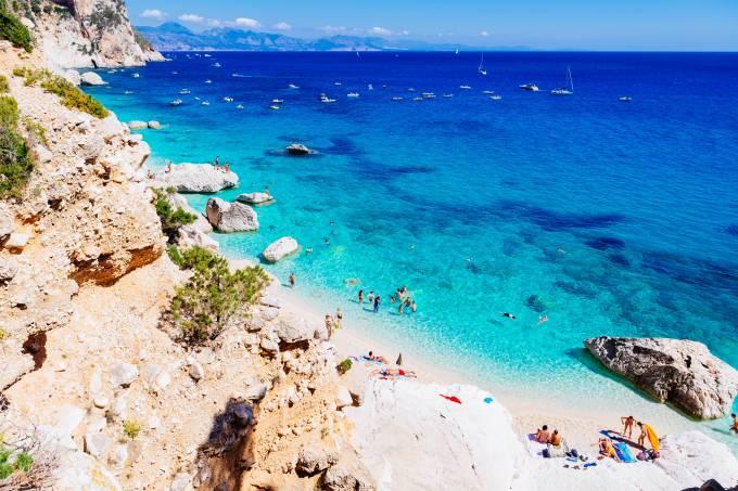 Golfo di Orosei, Sardenha, Itália