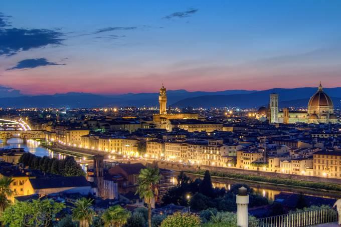 Piazzalle Michelangelo, Florença, Toscana, Itália