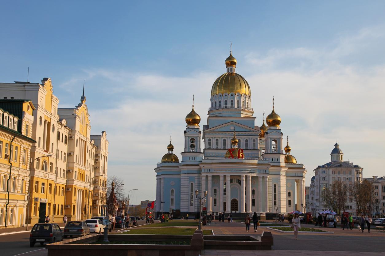 Catedral Feodor Ushakov, Saransk