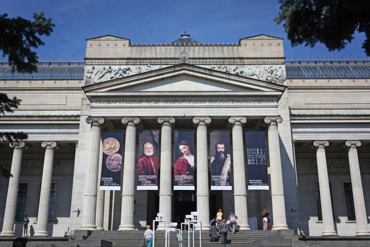 Museu Pushkin de Belas-Artes, em Moscou