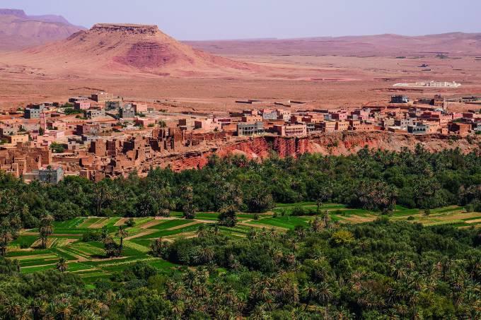 Oásis de Tinghir, Marrocos