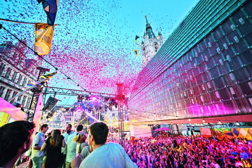 Festa em Ghent