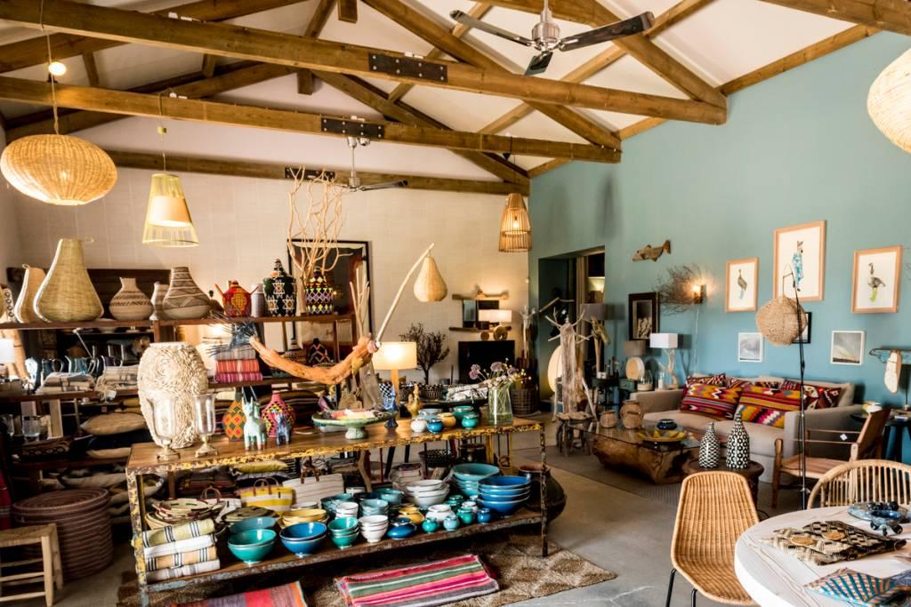 Interior da loja de decoração Rice: pode morar aqui dentro?