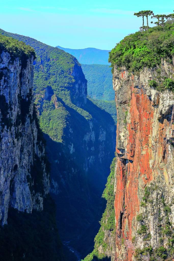 Canyon Itaimbezinho, Rio Grande do Sul, Santa Catarina,