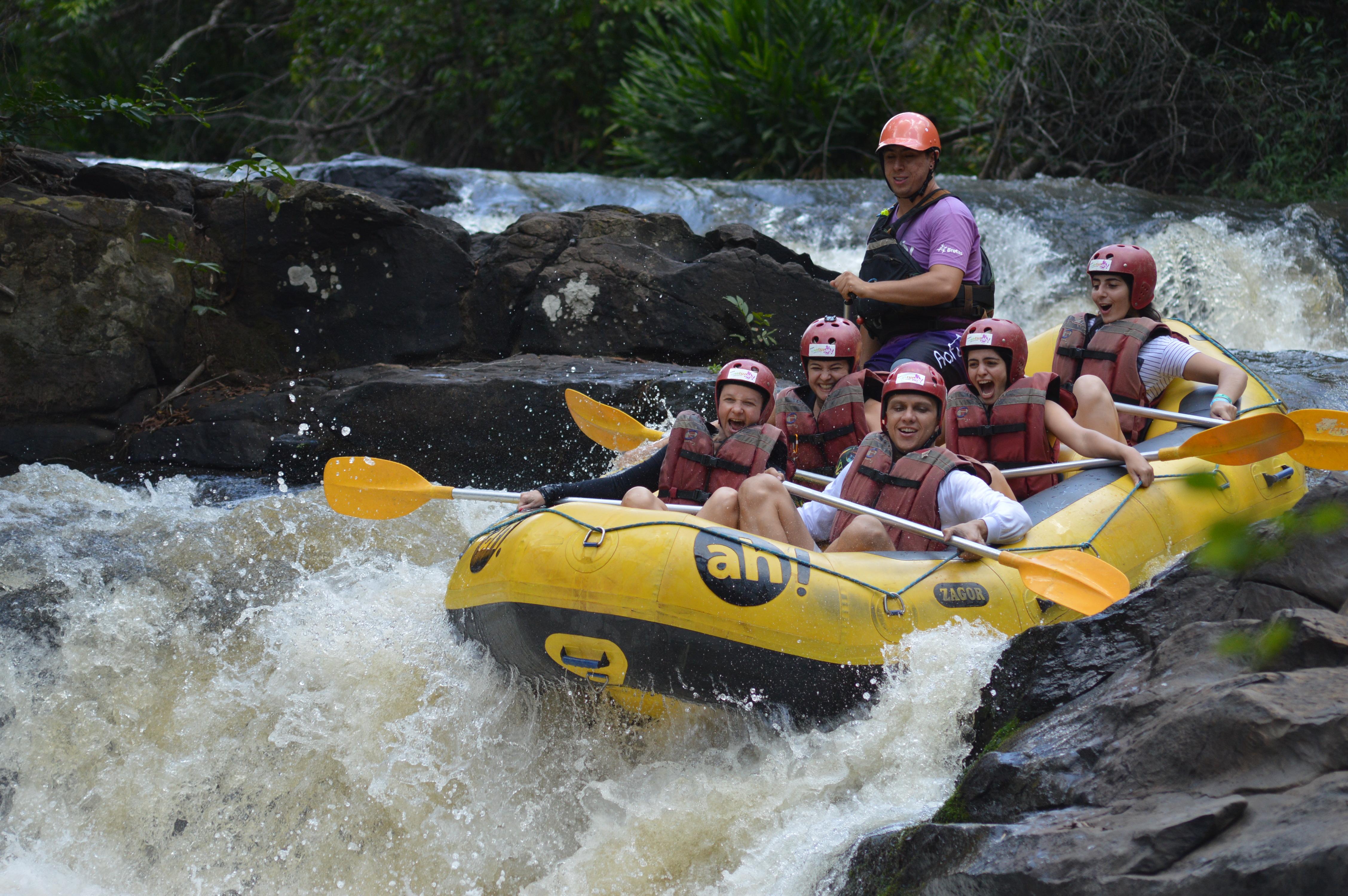 Brotas, no interior de São Paulo, é um dos principais destinos de ecoturismo e prática de esportes radicais do estado