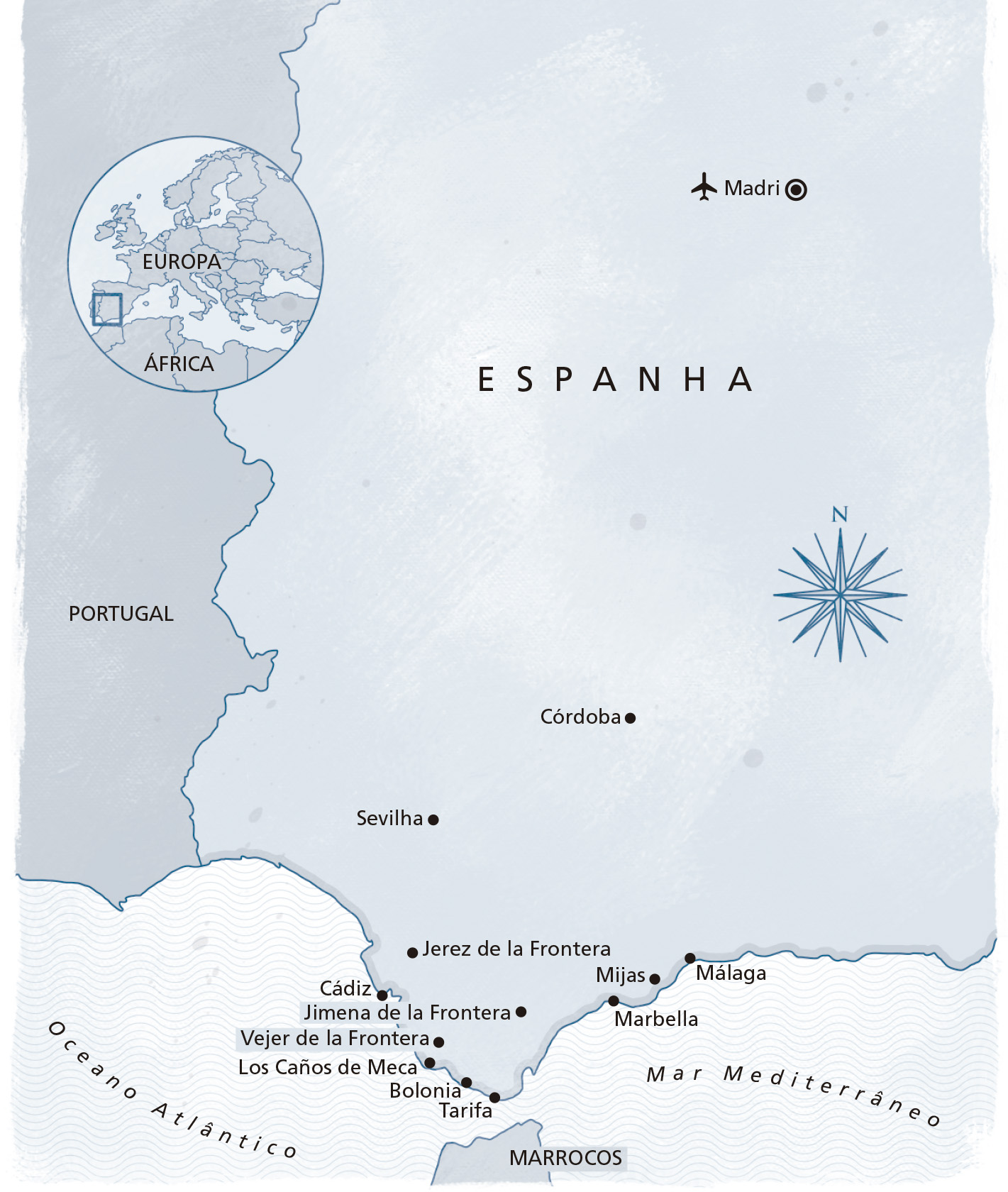 Mapa Espanha
