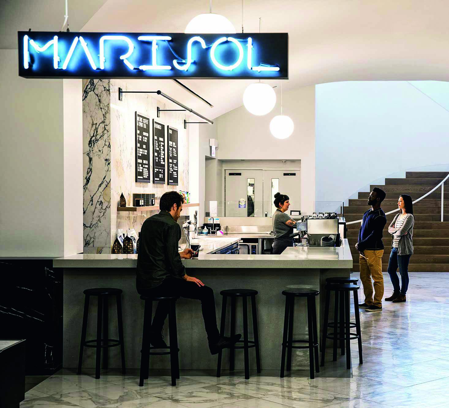 Marisol, no Museum of Contemporary Art