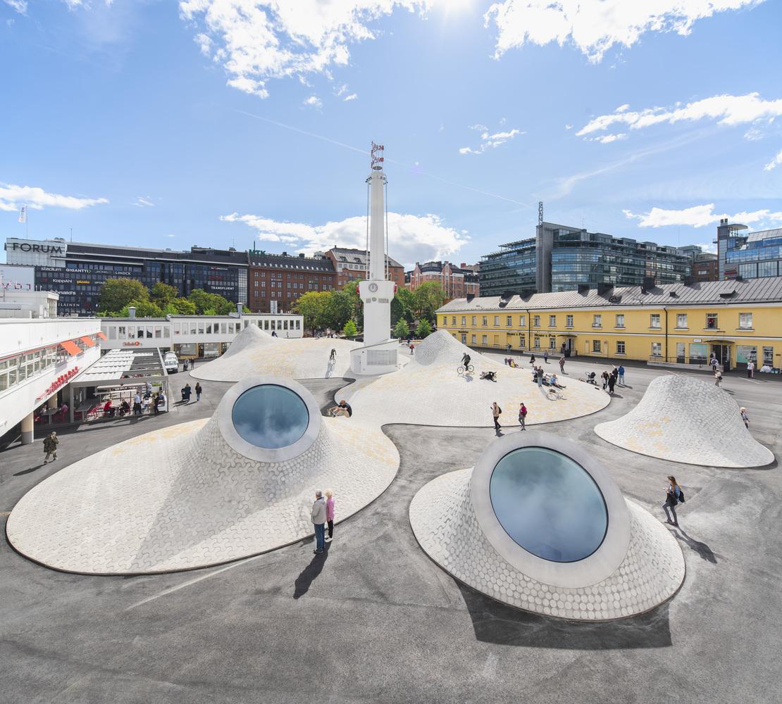 Amos Rex, o museu mais modernista de Helsinki, na Finlândia