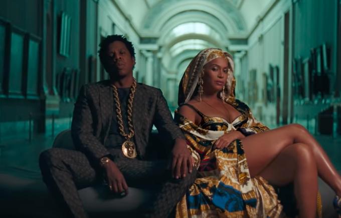 Apes**t, Beyoncé e Jay-Z