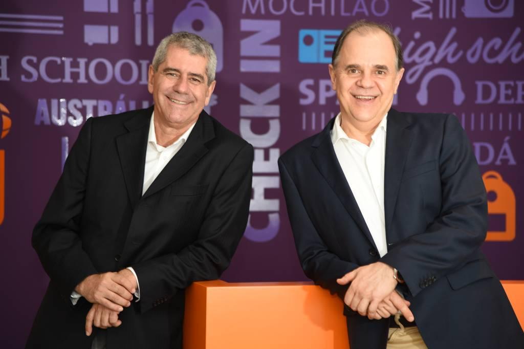Celso Luiz Garcia e Victor Hugo Baseggio, sócios-diretores da CI