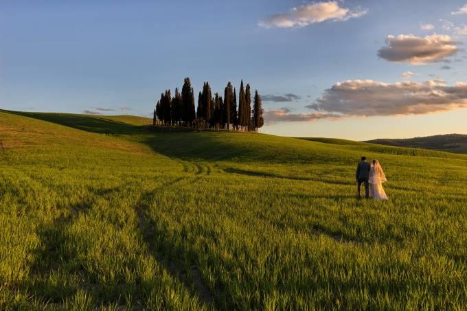 Casamento, Toscana, Itália