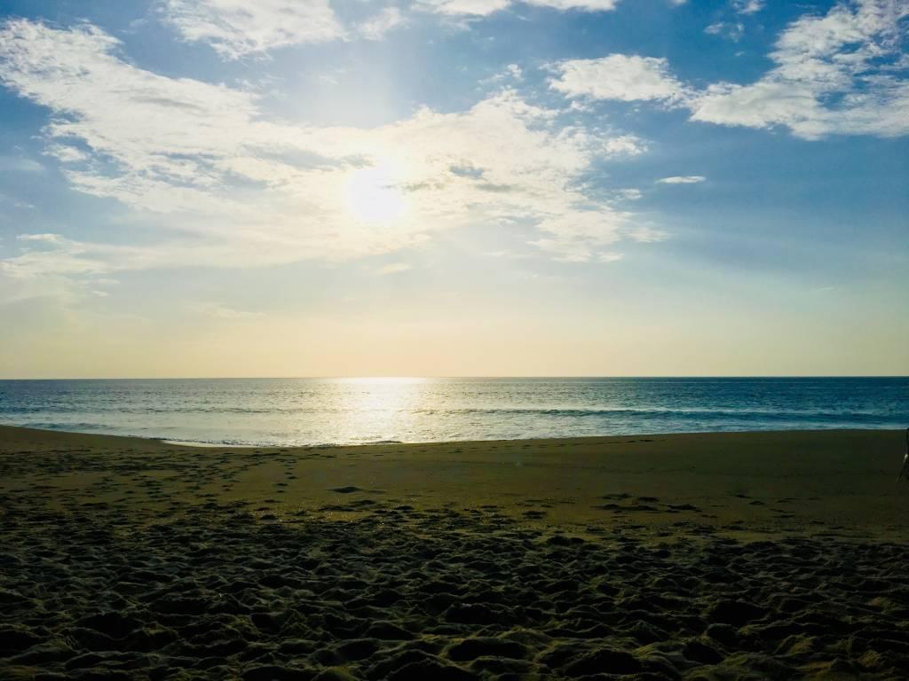 A Praia do Pêgo, a 10 minutos do hotel