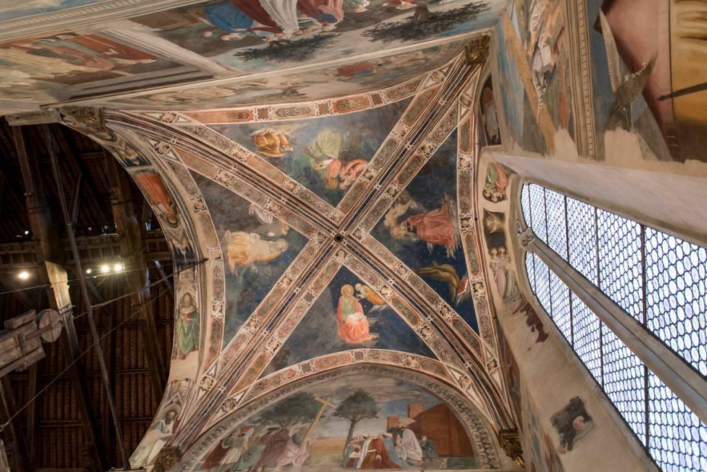 Os afrescos de Piero della Francesca em Arezzo: grande atração local