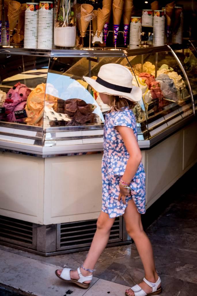 Os irresistíveis sorvetes italianos