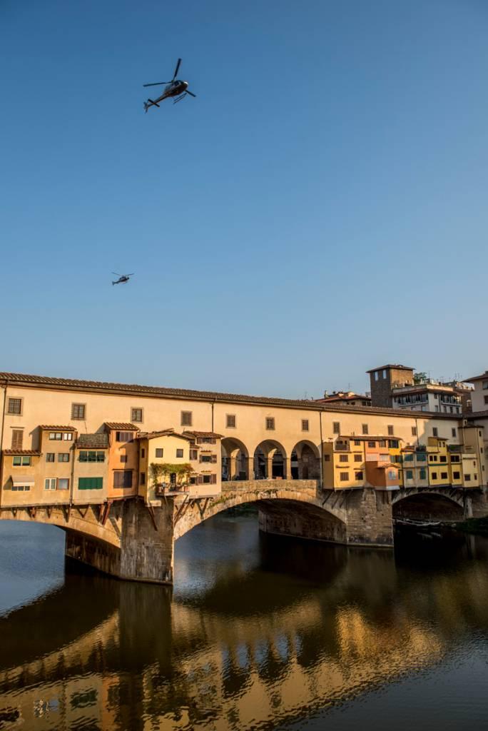 A Ponte Vecchio: única sobrevivente da Segunda Guerra