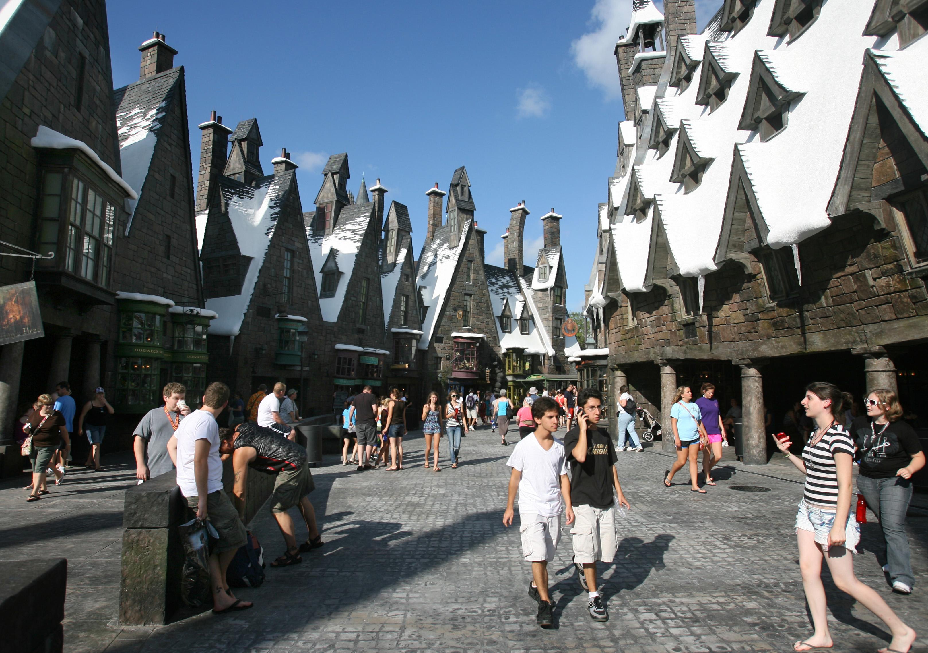 Área do Harry Potter na Island of Adventures