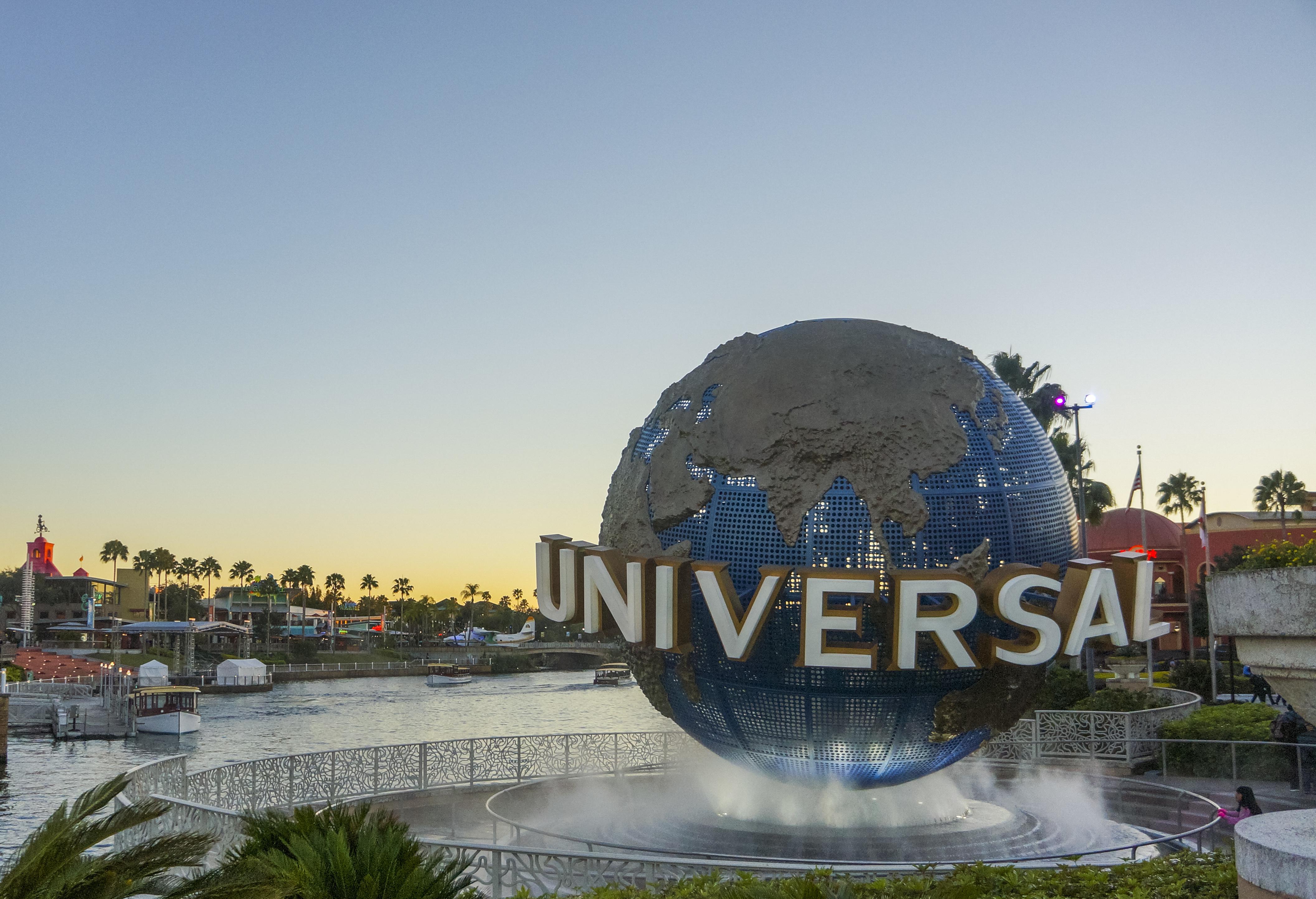 Entrada do Universal Studios