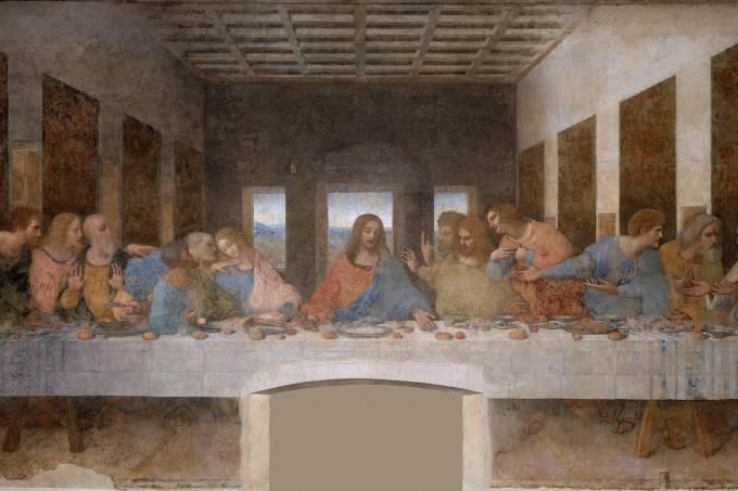 A Última Ceia, Leonardo da Vinci, Milão, Itália