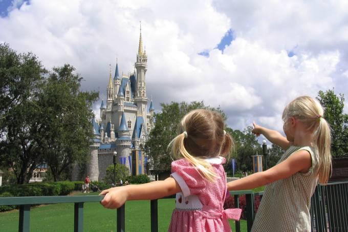 Crianças na Disney