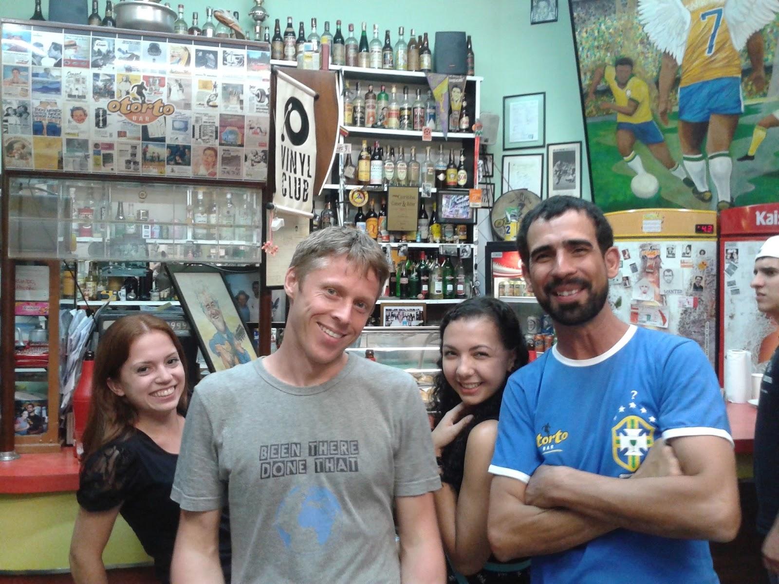 Gunnar Garfors no Brasil