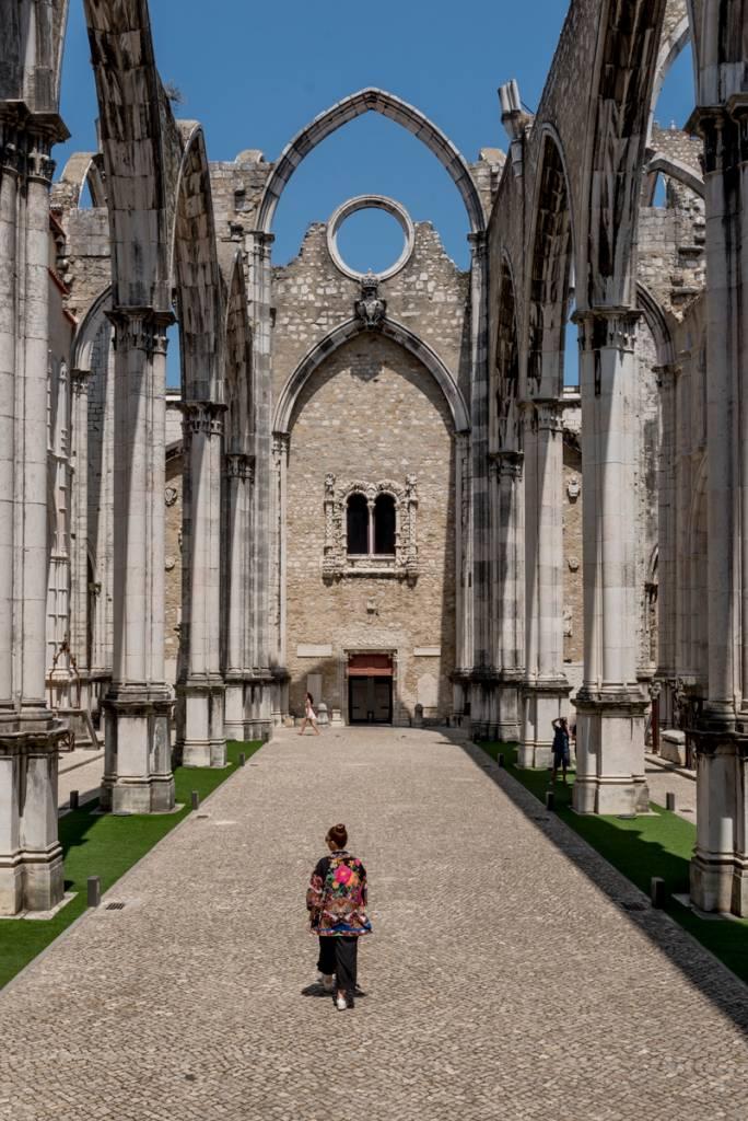 As incríveis ruínas do Convento do Carmo, no Chiado