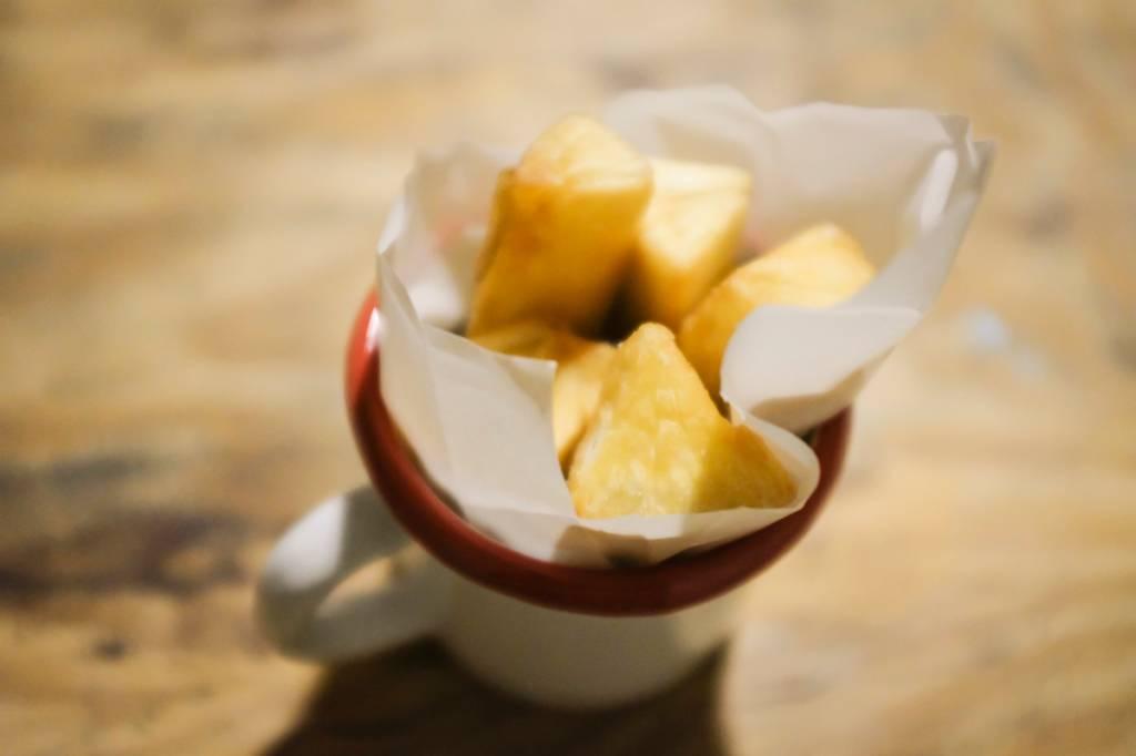 Mandioca frita do Boteco da Dri: sequinha e com gostinho de quero mais