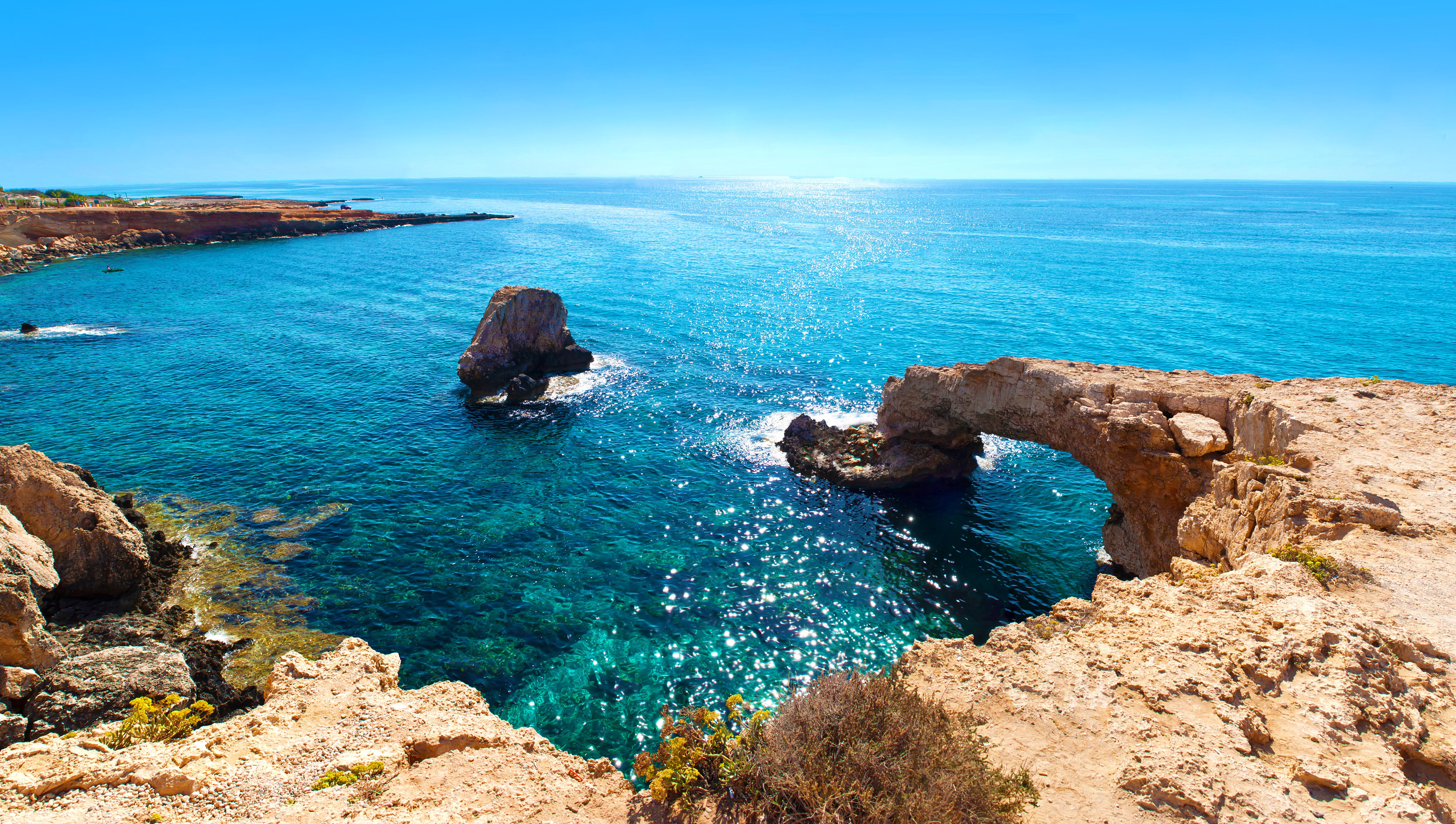 A Ponte do Amor em Ayia Napa, no Chipre