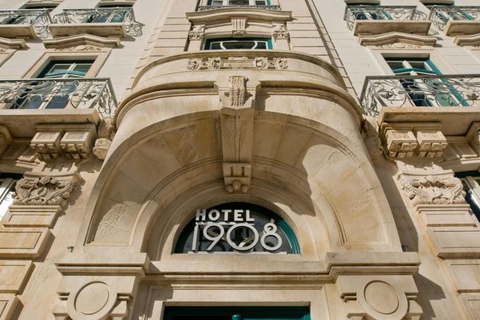 Fachada Hotel 1908, Lisboa, Portugal