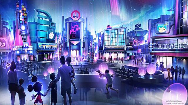 Nova pavilhão de jogos do Epcot terá uma pegada mais tecnológica