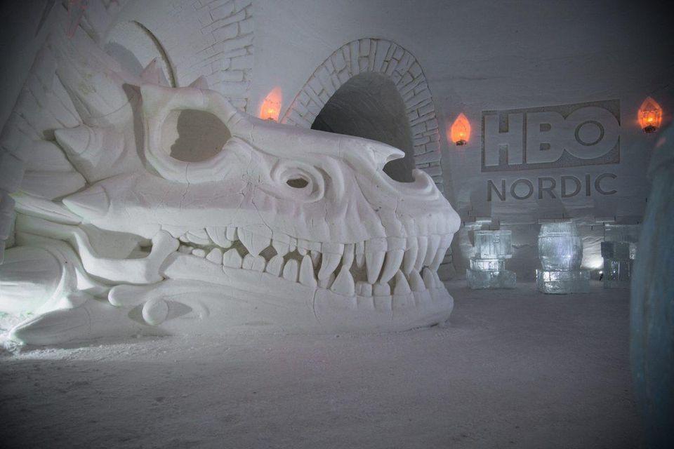 Lapland Hotels SnowVillage, hotel temático de Game of Thrones