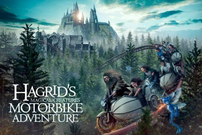 Nova montanha russa do Harry Potter será inspirada no personagem Hagrid