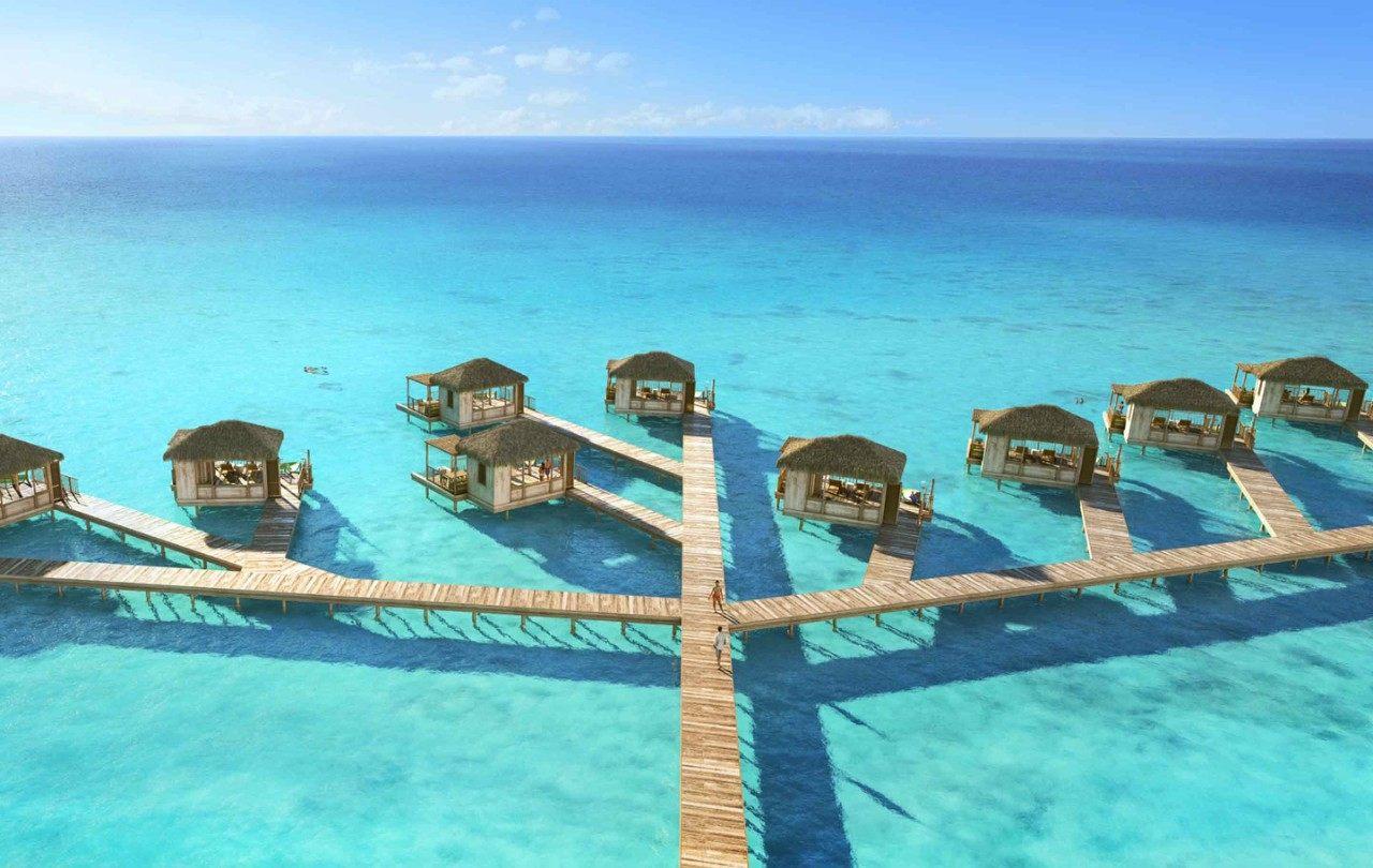 Cabanas na CocoCay, ilha da Royal Caribbean nas Bahamas