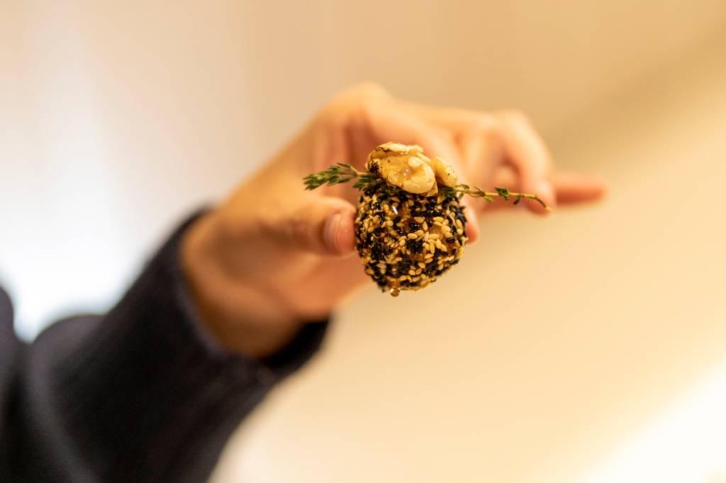 As bolinhas de alheira com mel do jantar: deliciosas