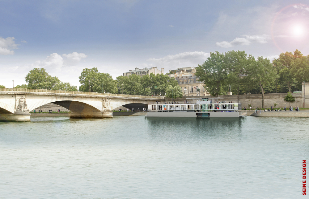 Fluctuart, Rio Sena, Paris, França