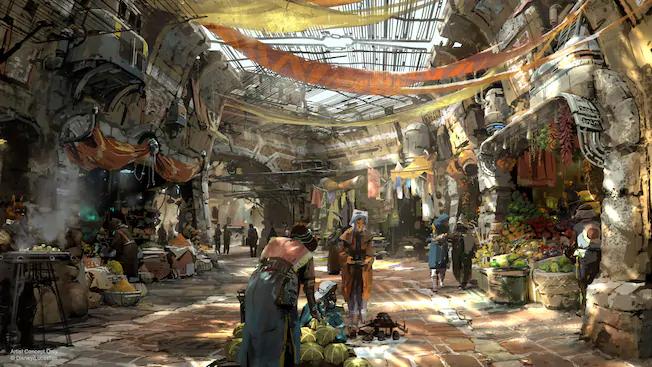 Lojas do Star Wars: Galaxy's Edge