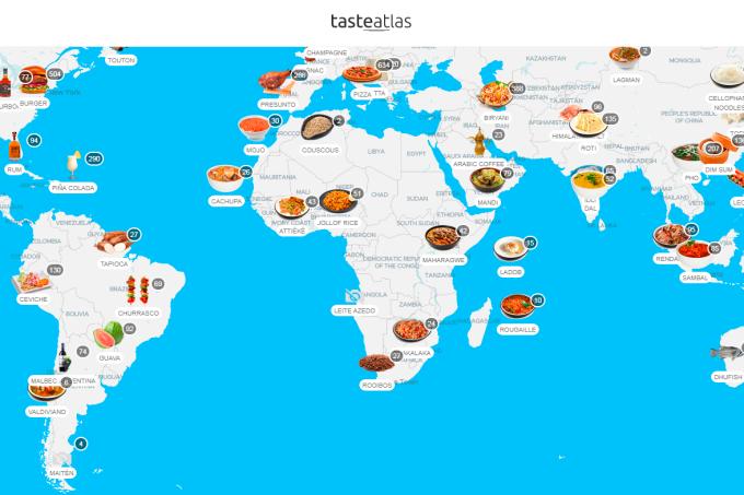 Print do site Taste Atlas