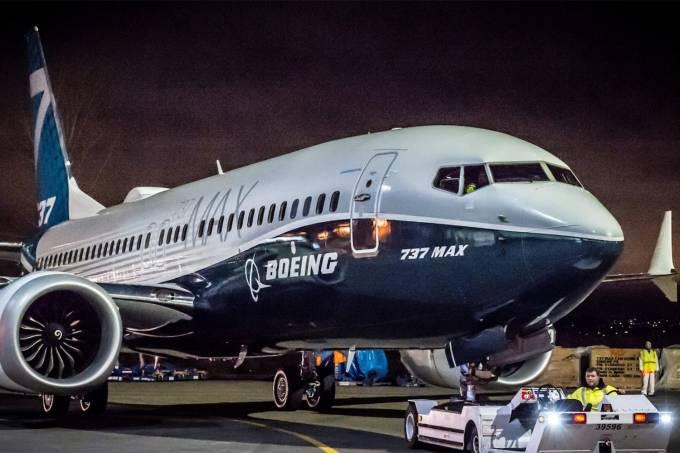 Aeronave modelo Boeing 737 MAX
