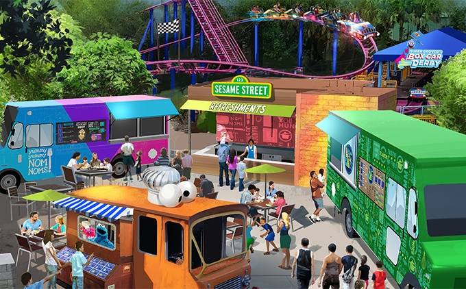 Sesame Street, SeaWorld, Orlando, Estados Unidos